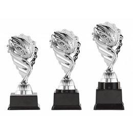 Wielren trofee  zilver 15.5cm t/m 18.5cm