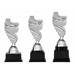 IJhockey trofee  zilver 15.5cm t/m 18.5cm