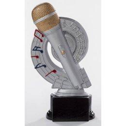 Microfoon beeldje 16 t/m 20cm