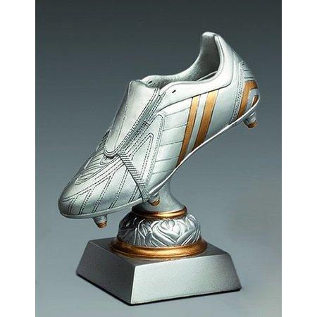 Resin voetbalschoen trofee