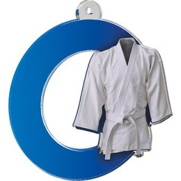Acryl medaille Judo/karate 70mm