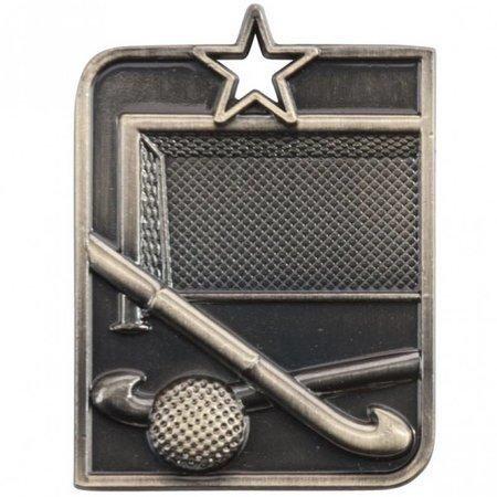 hockey medaille 50x40mm