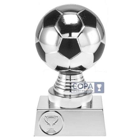 3D voetbal Zilver
