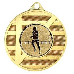 Medaille Goud/zilver/brons ø45mm