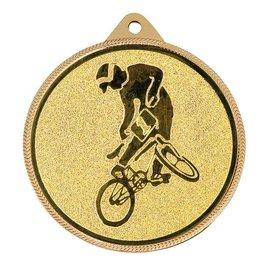 Medaille ø55mm Goud-zilver-brons