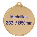 Medailles sportrijzen