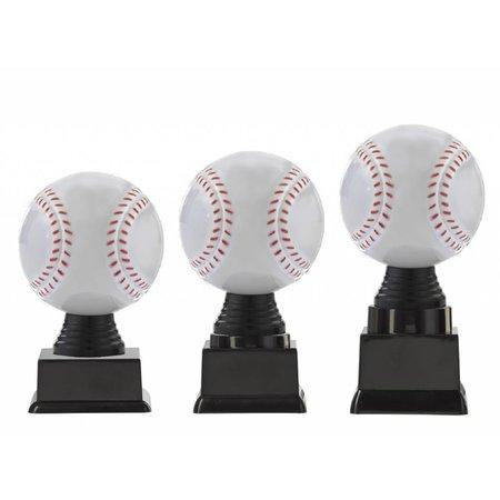 3D honkbal op blok 13 t/m 15.5cm