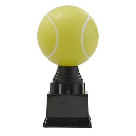 3D tennisbal op blok 13 t/m 15.5cm