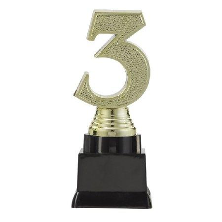 3D nummer 3 op blok 13 t/m 15.5cm