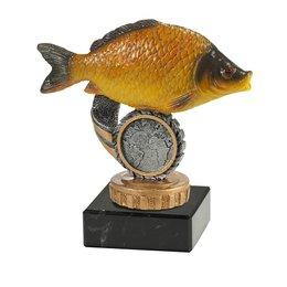 Vis op marmer
