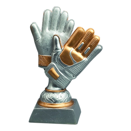 Keeperhandschoen (resin)