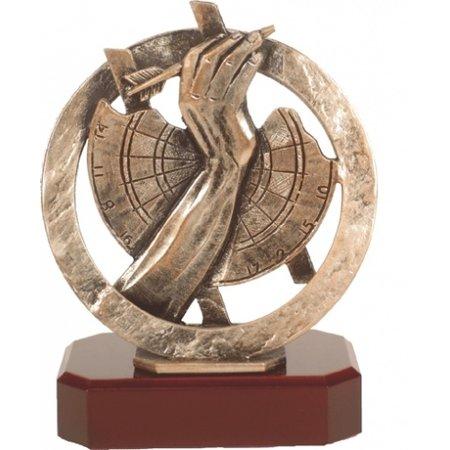 Metalen Dart trofee