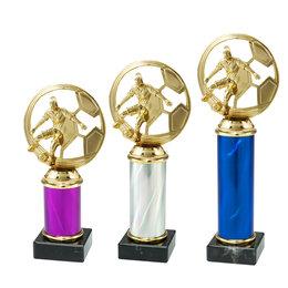 Trofee met Dames Voetbalfiguur