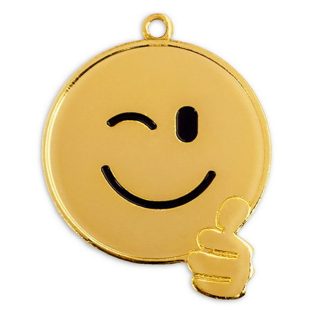 Smiley medaille