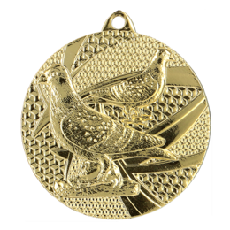 Duiven medaille Ø50mm