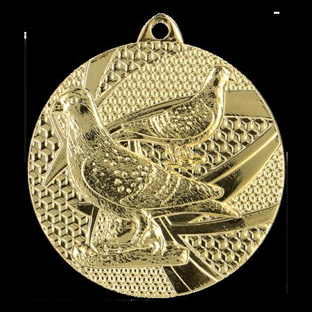 Duivensport medaille Ø50mm