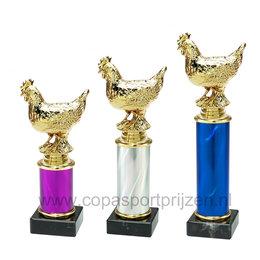 Trofee Sierkip 3 maten en kleuren
