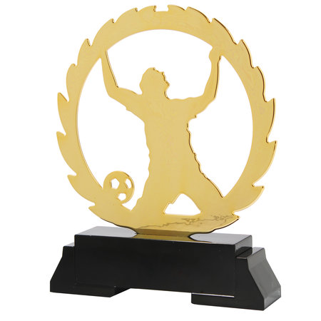 Laser gesneden voetbal award