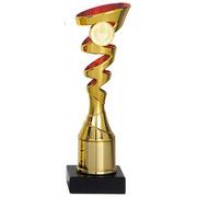 trofee goud/rood  18 t/m 22.5cm