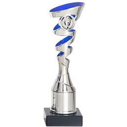 Trofee zilver/blauw  18 t/m 22.5cm