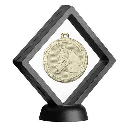 Display voor medaille
