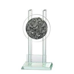 Glazen trofee Hondensport