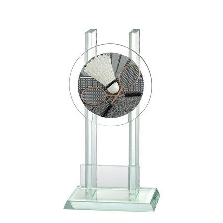Glas trofee badminton