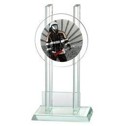 Glazen trofee Brandweer
