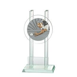 Glazen trofee Biljart