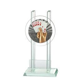 Glazen trofee Kaarten