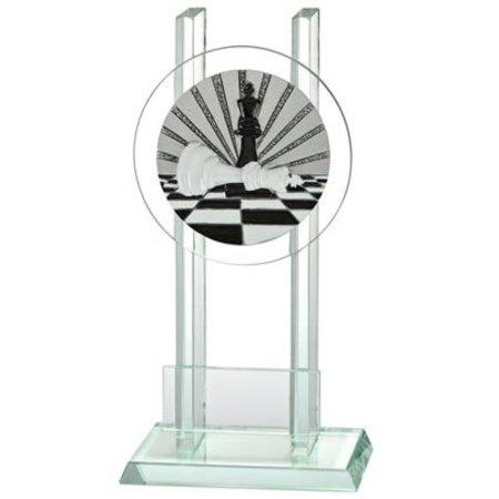 Glas trofee Schaken