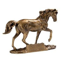 Resin beeld paard