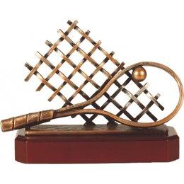 Tennis trofee metaal
