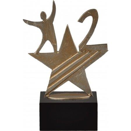 1-2-3 award metaal