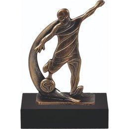 Voetbal trofee metaal