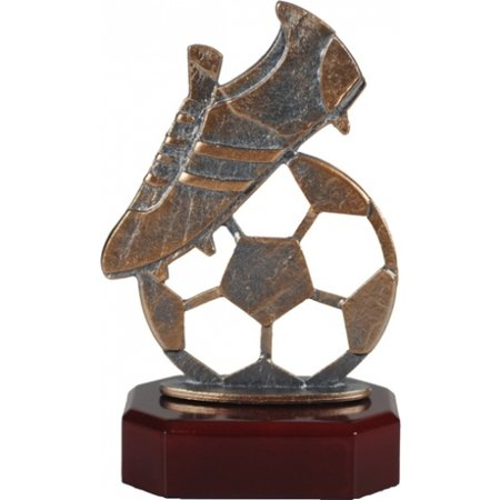 Voetbal trofee 16 t/m 18cm