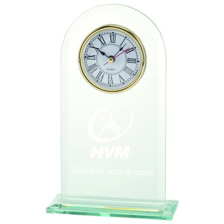 Klok award met gravure