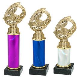 Trofee muziek 3 maten en kleuren