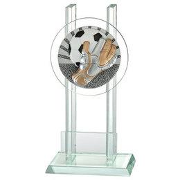 Glazen trofee keeper