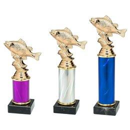 Trofee vissen 3 maten en kleuren