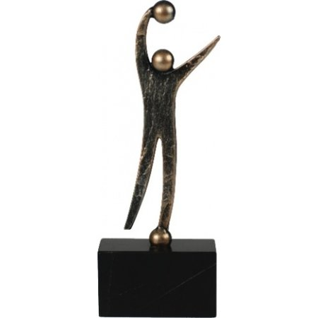 Handbal figuur metaal