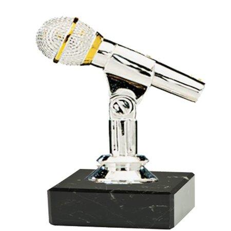 Microfoon op marmer