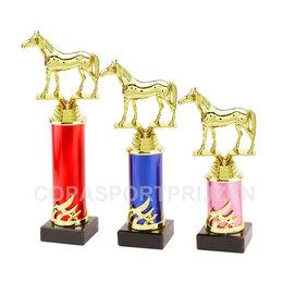 Trofee met paard 3 maten en kleuren