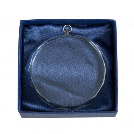 Medaille van glas 60mm