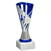 Trofee Zilver/Blauw