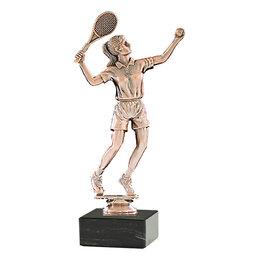Figuur Tennis op marmer