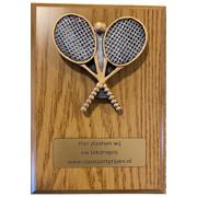 Plaquette Tennis