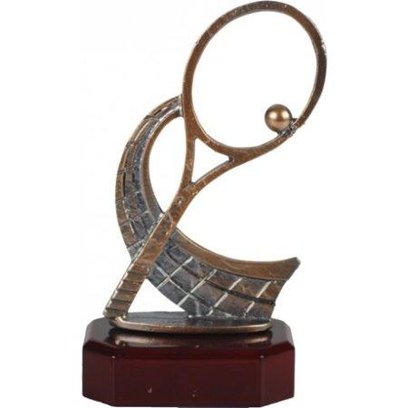 Tennis trofee van metaal