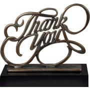 Thank You award metaal