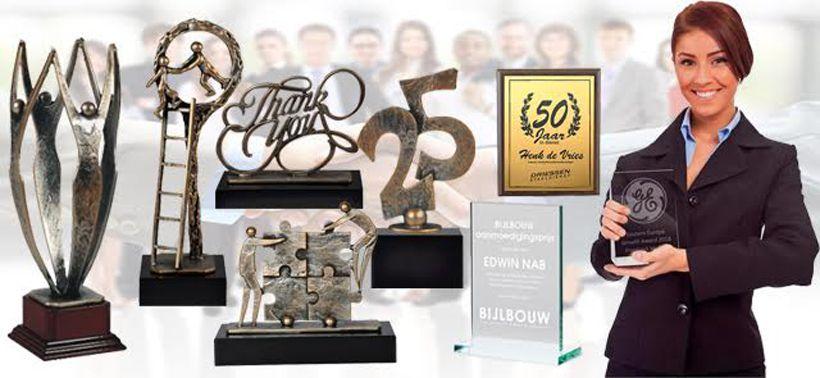 Business en jubileum awards, een prachtig geschenk